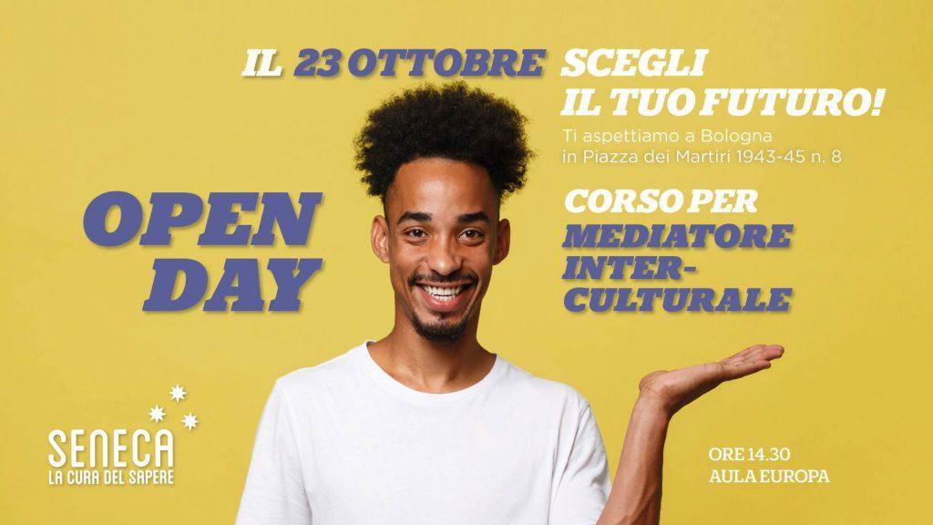 Open Day 23 Ottobre 2019 corso mediatore inter-culturale